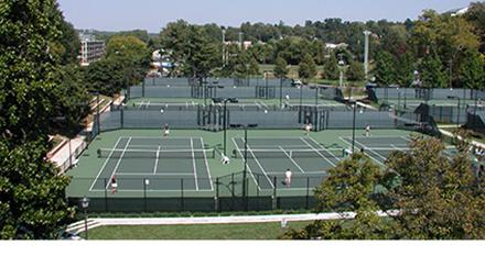 University of Virginia Tennis Courts