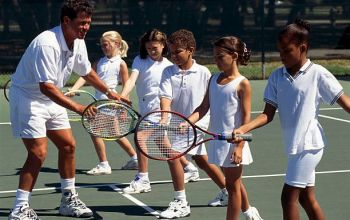 junior tennis clinic