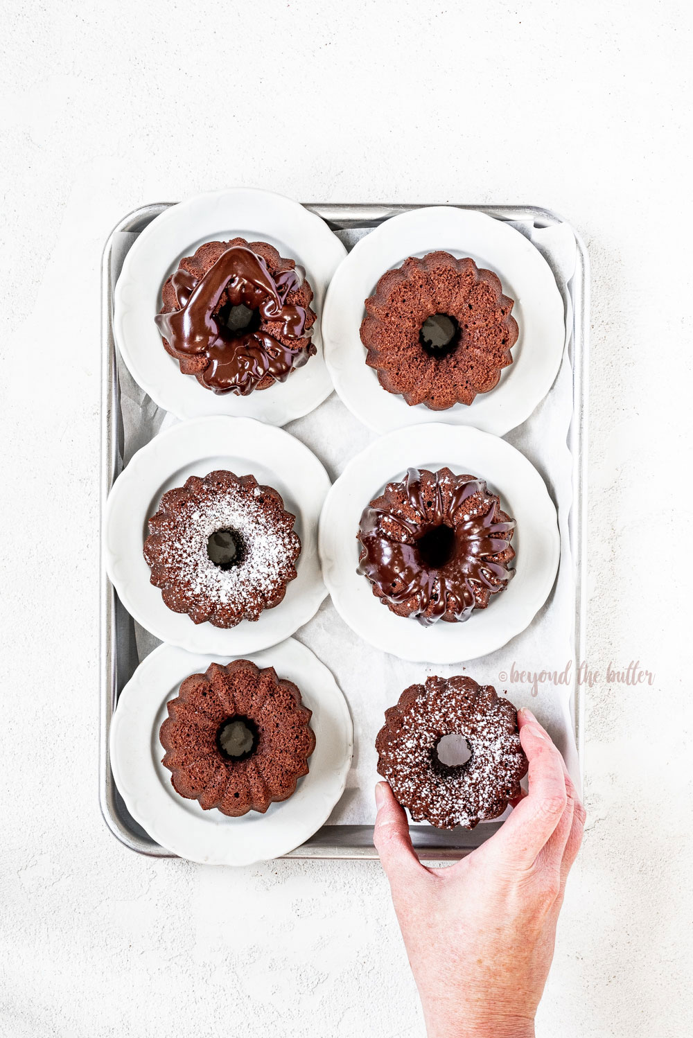 Mini Bundt Chocolate Pound Cakes   All Images © Beyond the Butter, LLC