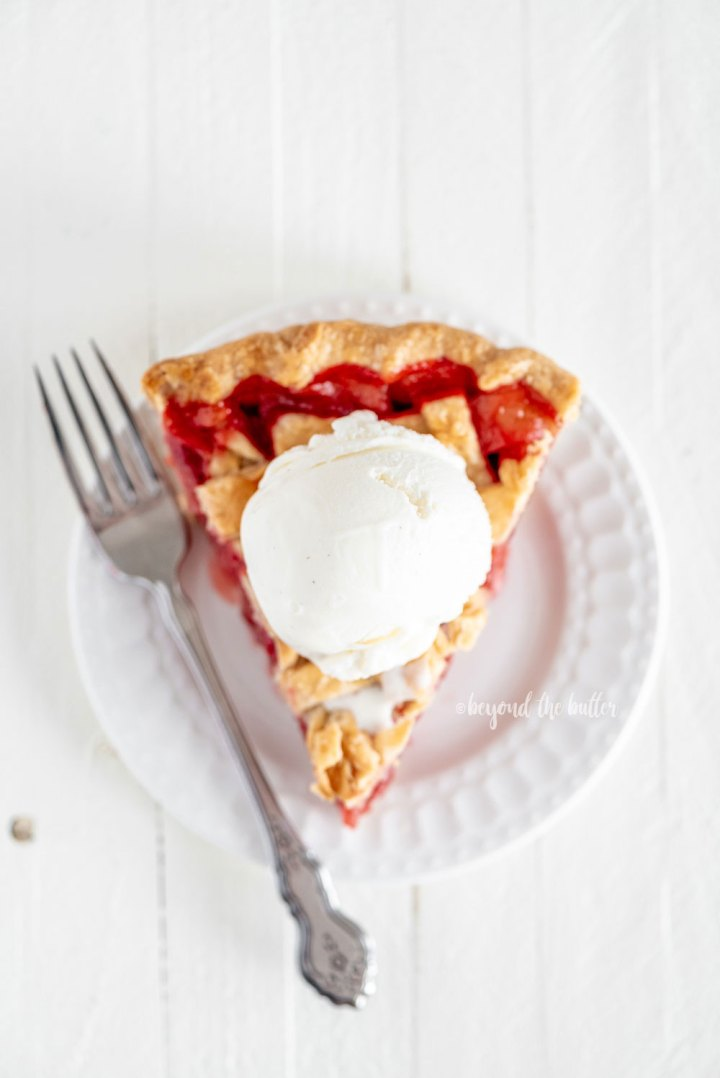 Strawberry Rhubarb Pie Filling Recipe | All Images © Beyond the Butter, LLC