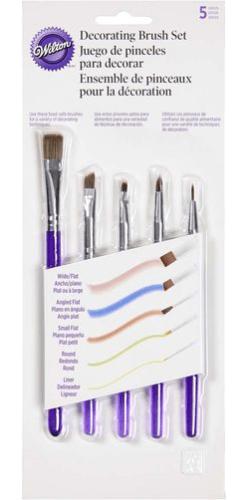 Wilton 5-Piece Decorating Brush Set