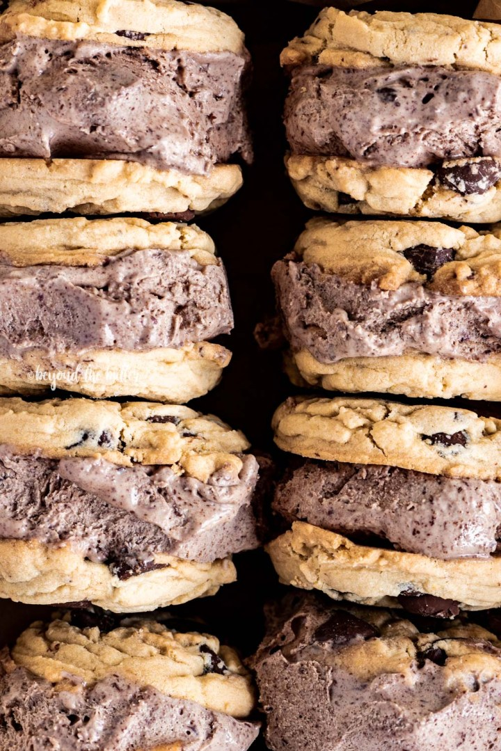 Homemade Ice Cream Cookie Sandwiches   All Images © Beyond the Butter, LLC