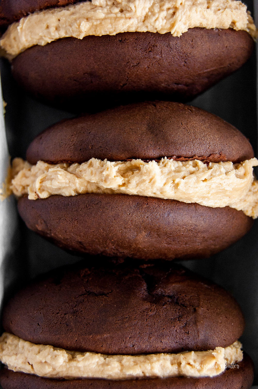 Chocolate-Peanut Butter Whoopie Pies | All Images © Beyond the Butter, LLC