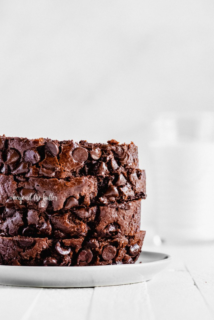Moist and delicious Chocolate Zucchini Bread recipe | All Images © Beyond the Butter, LLC