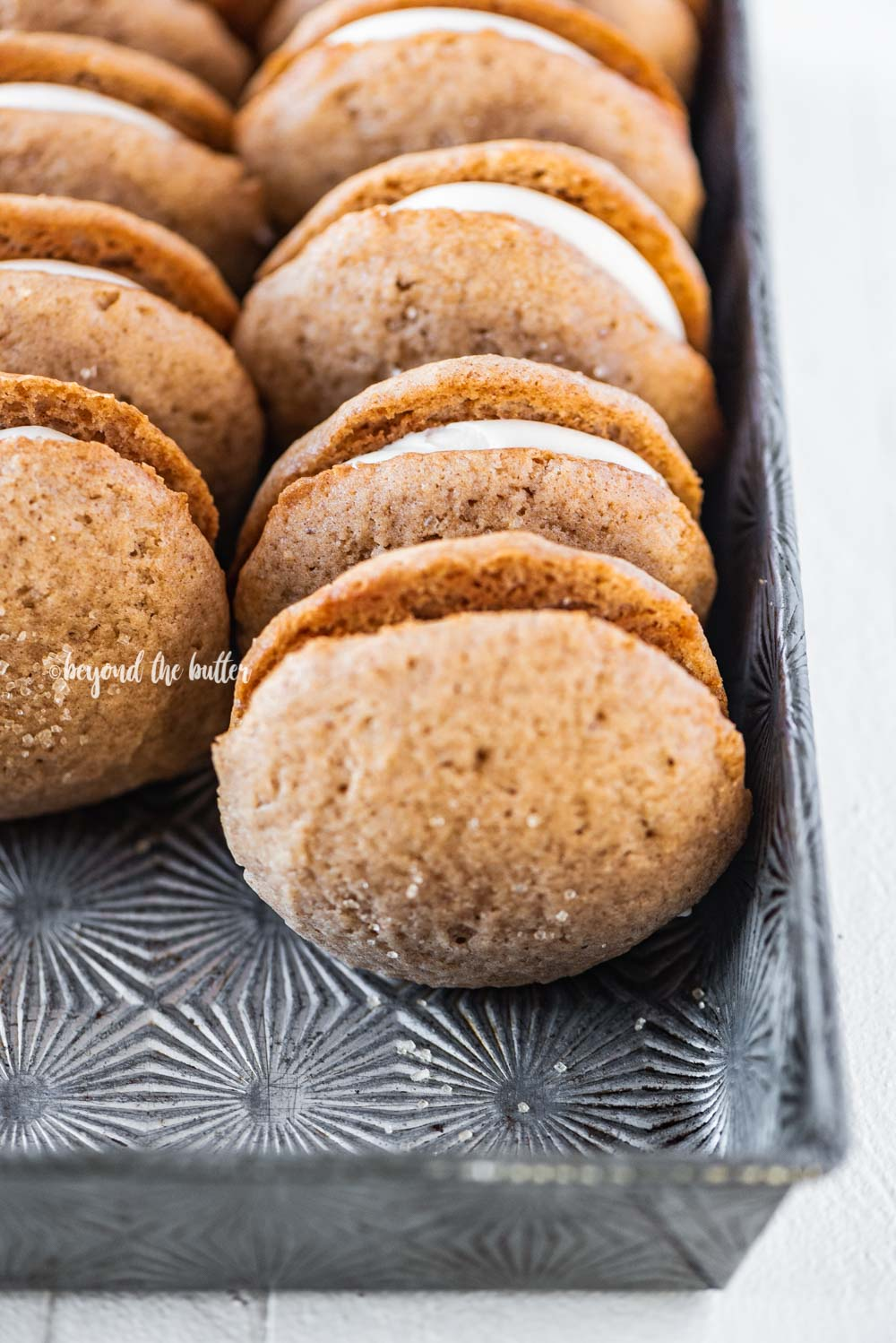 The Best Apple Cider Whoopie Pies recipe | All Images © Beyond the Butter, LLC