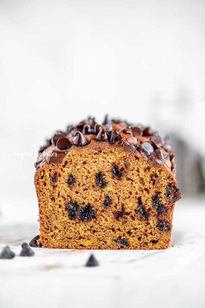 One Bowl Chocolate Chip Pumpkin Bread | All Images © Beyond the Butter, LLC