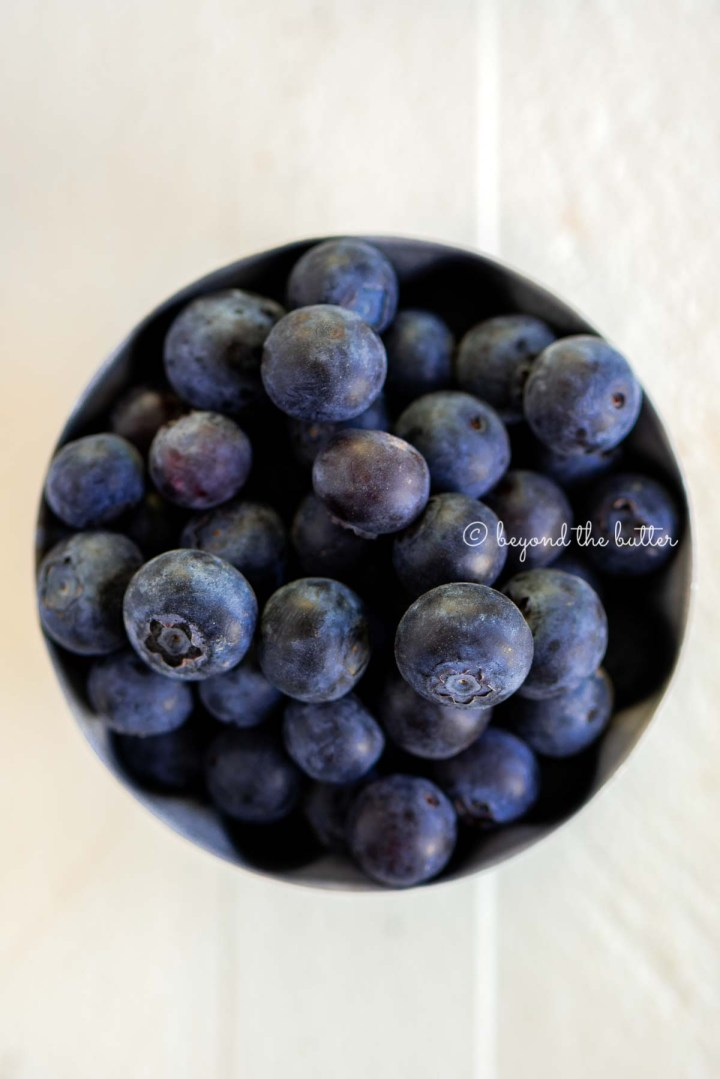 Bowl of blueberries | Image © Beyond the Butter®