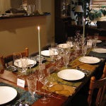 Dinner Party Table Setting