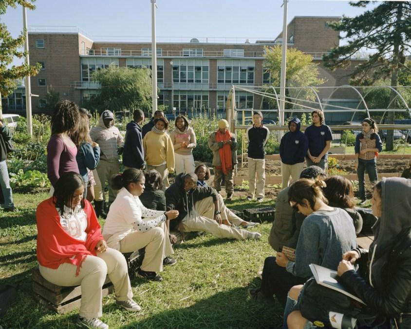 Youth Farm at The High School for Public Service, Brooklyn