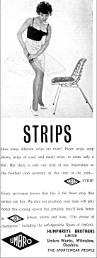 A 1961 advert very much of its time!
