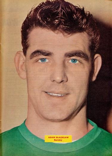 Adam Blacklaw, Burnley 1962