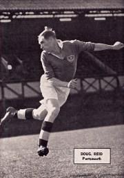 Doug Reid, Portsmouth 1951