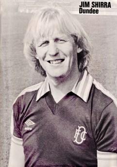 Jim Shirra, Dundee 1981