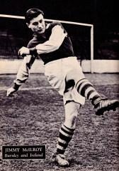 Jimmy McIlroy, Burnley 1951