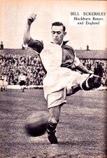 Bill Eckersley, Blackburn Rovers 1951