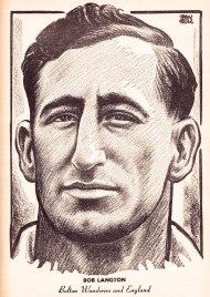 Bob Langton, Bolton Wanderers 1951