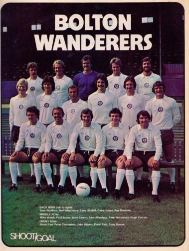 Bolton Wanderers 1975