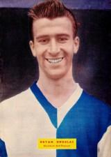 Bryan Douglas, Blackburn Rovers 1958