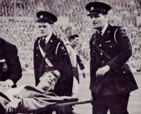 Dave Whelan injury, FA Cup Final 1960