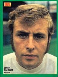 John Byrom, Bolton Wanderers 1973