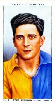 Joseph Stephenson, Leeds Utd 1939