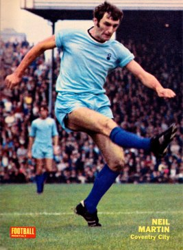 Neil Martin, Coventry City 1970