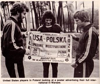 Poland v USA, 1976