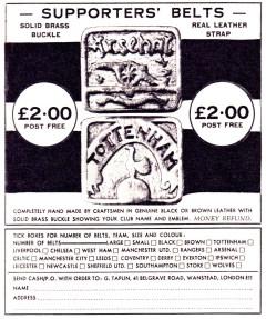 Belts 1973