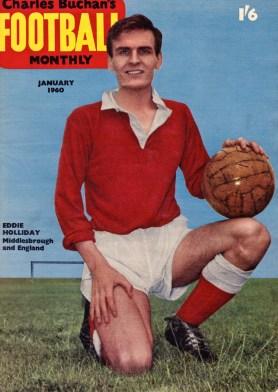 Eddie Holliday, Middlesbrough 1960