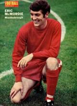 Eric McMordie, Middlesbrough 1970