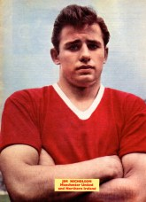 Jim Nicholson, Man United 1961