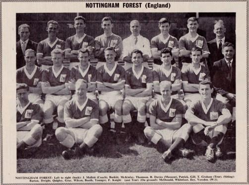 Nottingham Forest 1960