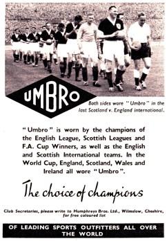 Umbro 1958