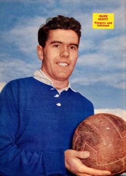 Alex Scott, Rangers 1960
