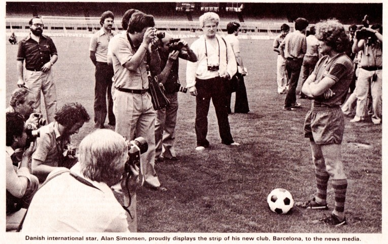Allan Simonsen, Barcelona 1979