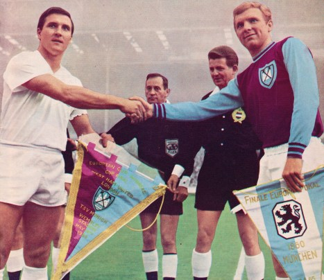 CWC Final, Munich 1860 v West Ham 1965