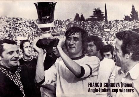 Franco Cordova, Roma 1972