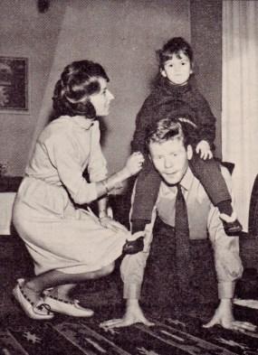 Helmut Haller and family