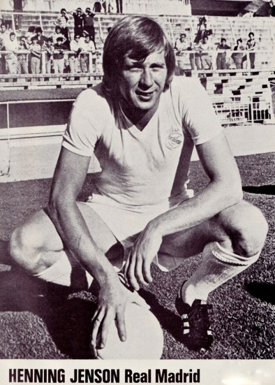 Henning Jensen, Real Madrid 1976