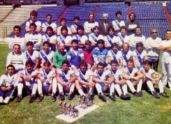 Puebla, Chilean national team in exile 1989