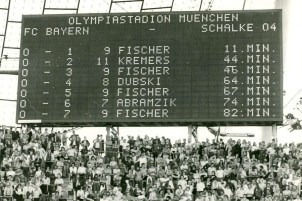 Bayern Munich 0 Schalke 7, Oct 1976%0ABay Munich 0 Schalke 7 Oct 1976%0A