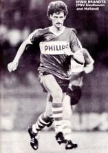 Ernie Brandts, PSV Eindhoven 1975