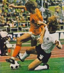 West Germany v Netherlands, World Cup Final 1974