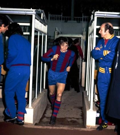 Cruyff at Highbury, 1974