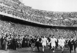 1957 European Cup Final, Real Madrid v Fiorentina
