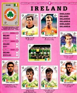 World Cup 1990 Ireland 1