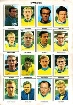 World Cup 1970 FKS Album: Sweden