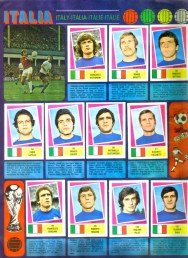 World Cup 1978 FKS Album: Italy