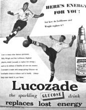 Billy Wright & Nat Lofthouse, Lucozade advert