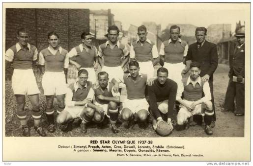 Red Star Olympique 1937-38